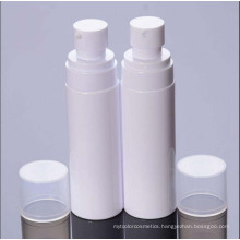 White Plastic Lotion and Spray Bottlefor Cosmetics Package