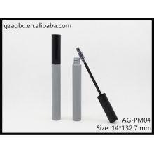 Encantadora & vazio plástico redondo tubo de rímel AG-PM04, embalagens de cosméticos do AGPM, cores/logotipo personalizado