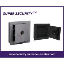 Caja fuerte protección doble pared gris (SMQ15)
