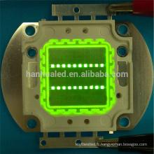 La puissance élevée de la diode 20w puce a mené 20w LED Epistar Epileds bridgelux puce professionnelle dirigée fabricant à Shenzhen