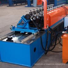 Alta velocidade do parafuso prisioneiro / faixa / treliça de aço telhado seco parede metal stud faixa rolo dá forma à máquina