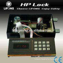 Serrure électronique de coffre-fort numérique pour hôtel sécurité boîte-modèle HP
