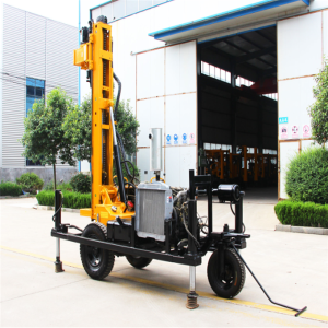 Hydraulic Water Well Rig Borewell Drilling Machine