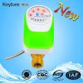 Lectura directa Control electrónico de la válvula Medidor de agua Verde