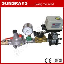 Système d'alimentation de chauffage industriel gaz
