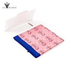 Latest Design Hand Rolled Digital Printing Silk Head Scarves Women 90x90 Satin