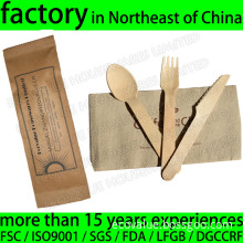 Custom Disposable Wood Cutlery Set