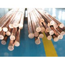 Barres de cuivre rouge, barre de cuivre rouge, tige en cuivre rouge avec rentabilité