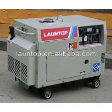 5,5 кВт 4-тактный, с воздушным охлаждением, одноцилиндровый дизельный генератор с навесом