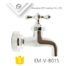 EM-V-B015 Brass bibcock tap cold water washing machine tap