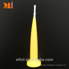 Quality Choice Multiple Colours Available Lemon Yellow Birthday Bullet Shaped Candles For Sale