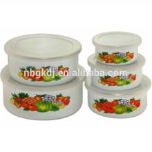 Frau Tasche Emaille Eis Schüssel / Salat Schüssel Groß kaufen aus China