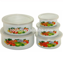 woman bag enamel ice bowl/salad bowl bulk buy from china