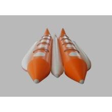 Barco de plátano de Color naranja de 8 personas