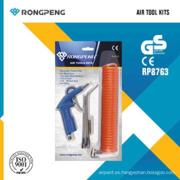 Rongpeng R8763 6PCS Herramientas de aire Kits Air Tool Accessories