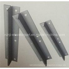 Placa de pescoço Rj-Gr para peças de elevador de trilho de guia oco