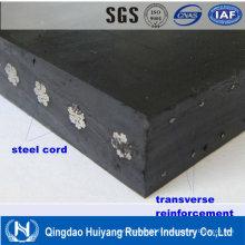 Ceinture en acier de convoyeur en caoutchouc de corde d'équipement DIN 22131