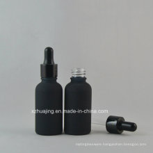 5ml-100ml Frost Black Essnetial Oil Glass Dropper Bottle