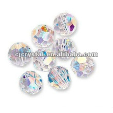 6MM Faceted Round Glass Beads,glass beads for chandelier