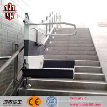 China liefern günstige geneigte Rollstuhllift / hydraulische Hebebühne / hydraulische Hebebühnen für Behinderte