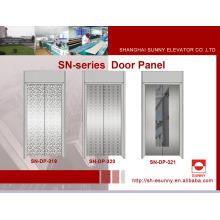 Panel de la puerta del elevador con grabado de acero inoxidable (SN-DP-319)