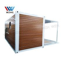 Portable Modular sandwich panel house porta cabin/ 40ft expandable container house