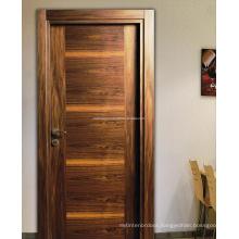 Natural Walnut Veneer Door, Modern Style, Turkish Manufacturing