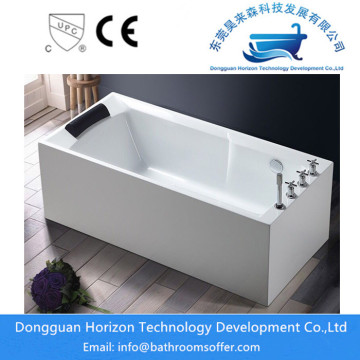 Europe standard jacuzzi square tub