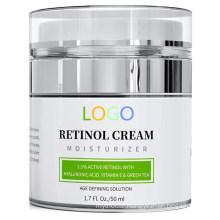 Custom Professional Retinol Moisturizer Anti Aging Cream for Face & Eye