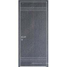Conception de porte de porte en bois Hotsale, prix des portes HPL, portes laminées HPL