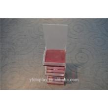 Hot-Sell rouge à lèvres ou petite carte acrylique support d'affichage