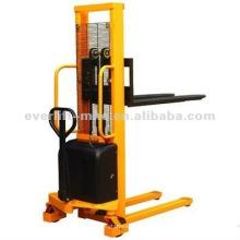 Semi apilador eléctrico apilador eléctrico manual de la semi-batería del apilador eléctrico