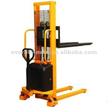 Semi Electric Stacker manual electric stacker semi-battery stacker