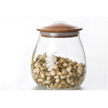 Hohe Borosilikatglas Luftdichtes Glasglas Leichtgewicht
