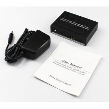 EDID SPDIF RCA HDMI Splitter 1 x 2