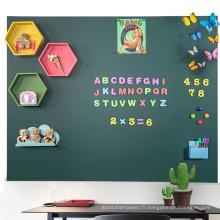 Tableau magnétique vert de craie pour enfants 2M 1M
