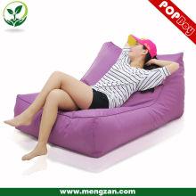 Outdoor Waterproof Double beanbag sofa chaise longue, canapé à café