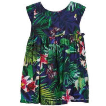 Vestido de flores de moda en ropa para niños