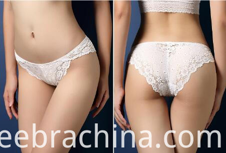 women lace underwear white