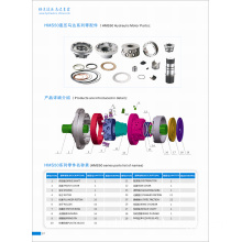 Hydraulic Spare Parts for Poclain (MS 50 Motors)