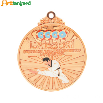 Funny Logo Customized Large Award Medal
