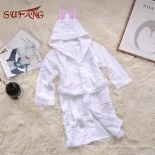 Милый кролик младенца с капюшоном полотенце 100% хлопок махровое полотенце ткань