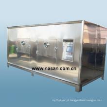 Máquina secadora de frutas por microondas Shanghai Nasan
