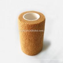 Médicale différente de couleur de peau bandoulière élastique non tissée jetable non tissée