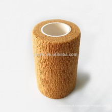 Medical tipos diferentes cor da pele descartável não tecido crepe bandagem elástica