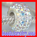 European Style 90 Crystal Rhinestones-austrian Crystal Jewelry Beads With Sterling Silver Core