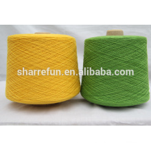 26nm / 2 lana 70% lana 30% hilado de cachemira para hacer punto