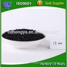 La central eléctrica de alta calidad utiliza carbón activado especial para desulfuración y desnitrificación