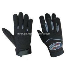 Mechanische Bauarbeits-Sicherheits-Hand schützen vollen Finger-Handschuh