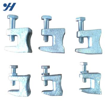 Abrazadera de haz de acero de alta calidad directa del bastidor de los proveedores de China, abrazadera del haz de h